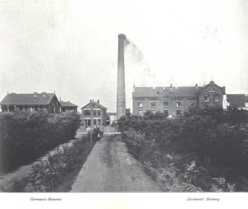 """Aus der Germania Brauerei entwickelte sich ein großer Konzern. Heute wird hier das weltweit vertriebene """"Tsingtao"""" Bier hergestellt. © Bundesarchiv"""