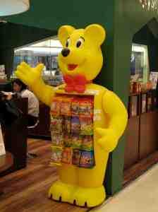 Der Haribo Goldbär macht auch in China Kinder und Erwachsene froh. © at