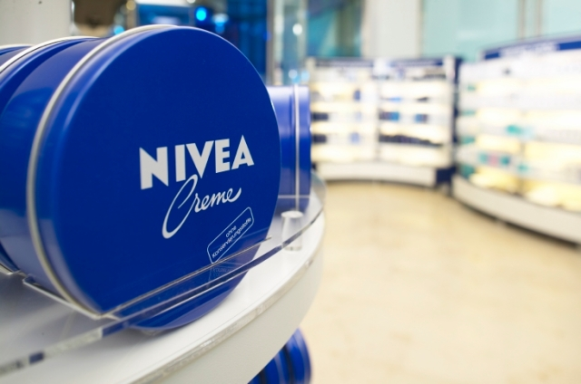 Nivea. The world-famous cream in the blue tin celebrated its 100th birthday in 2011. © Beiersdorf