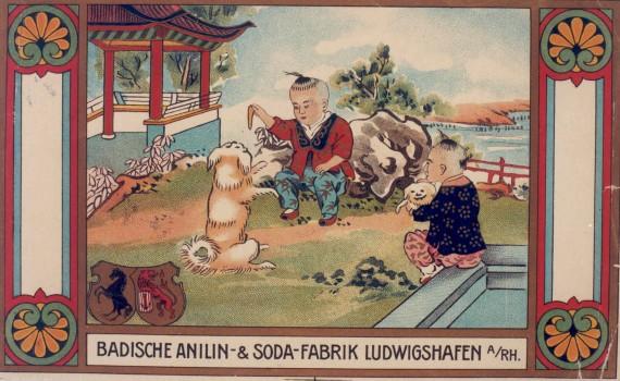 Historische Werbeanzeige von BASF. © Corporate History / Unternehmensarchiv BASF (Ludwigshafen)