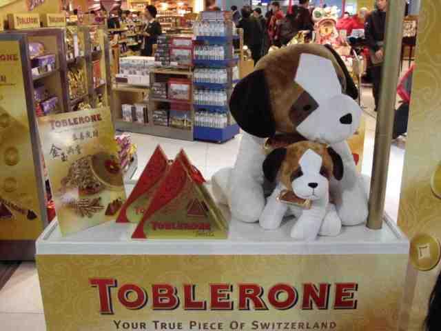 Toblerone Geschenkpackung. © at
