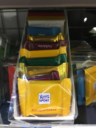 Ritter Sport Minis. @ at